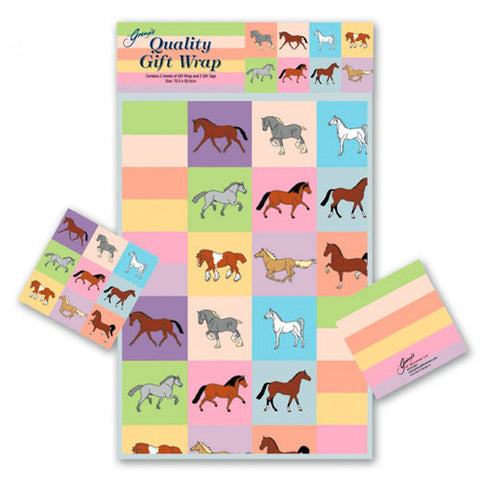 Pretty Pony Gift Wrap