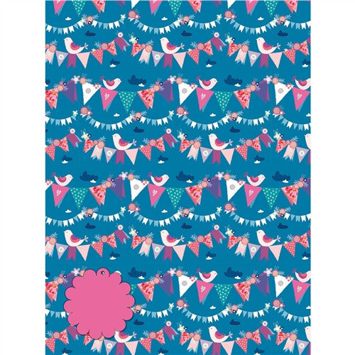 Birthday Bunting Gift Wrap