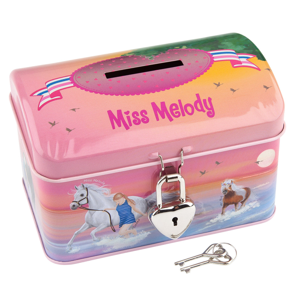 Miss Melody Pink Money Box - All Horsey Gifts
