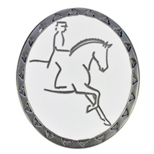 Dressage Stock Pin / Brooch - All Horsey Gifts