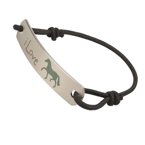 I Love Horses Fashion Bracelet