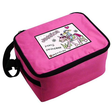 Personalised Pony Princess Lunch Bag