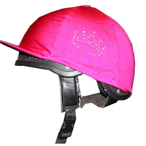 Pink Horse Hat Cover with Diamante Tiara - All Horsey Gifts
