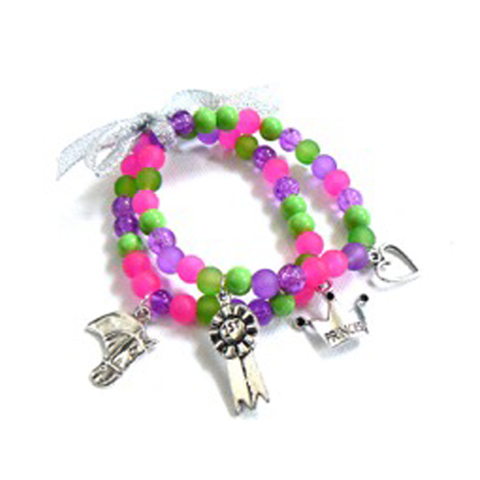 Bright Pony Charm Bracelet Bead Kit - Make your own bracelet