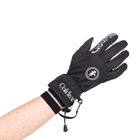 Caldene 3 in 1 Black Riding Gloves