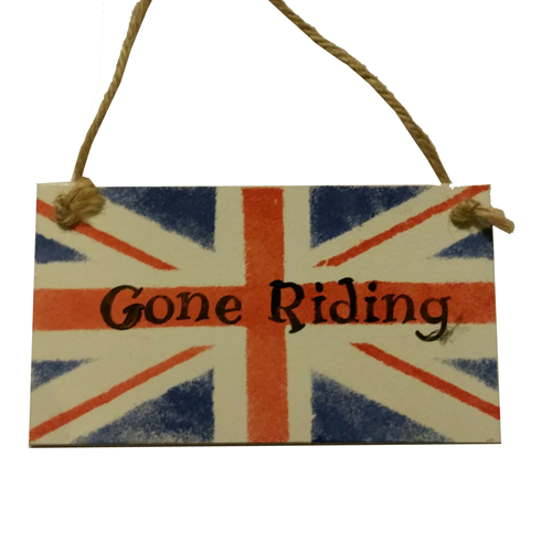 Silly Filly Gone Riding Sign - All Horsey Gifts