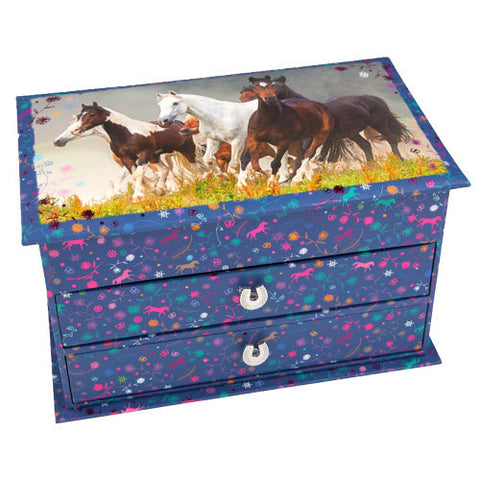 Pretty Horse Jewellery Box  sc 1 st  Horsey Gifts & Horse and Pony Magical Jewellery Boxes Aboutintivar.Com