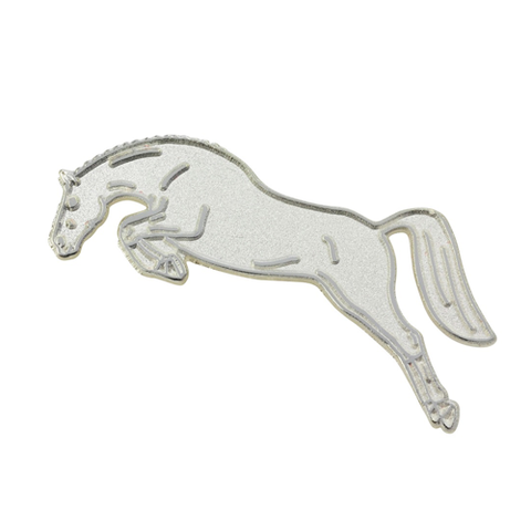 Horse Jumping  Stock Pin / Brooch