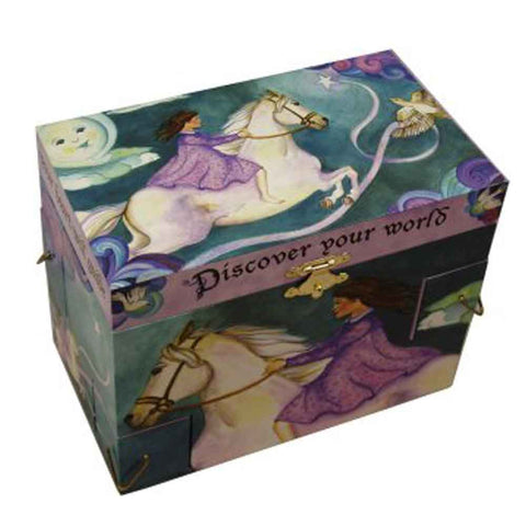 Discover Your World Horse Musical Jewellery Box