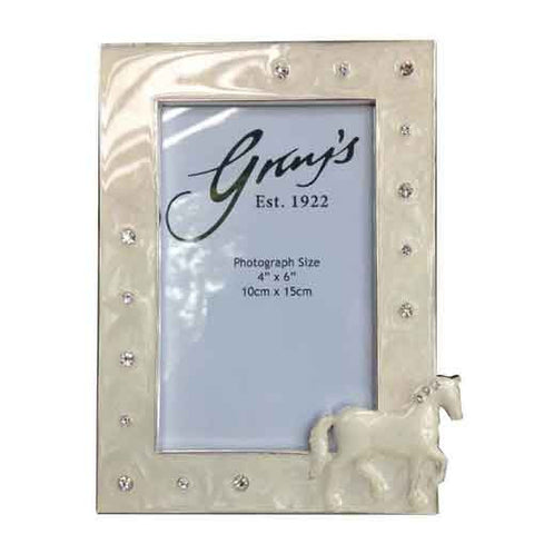 Sparkly Horse Photo Frame
