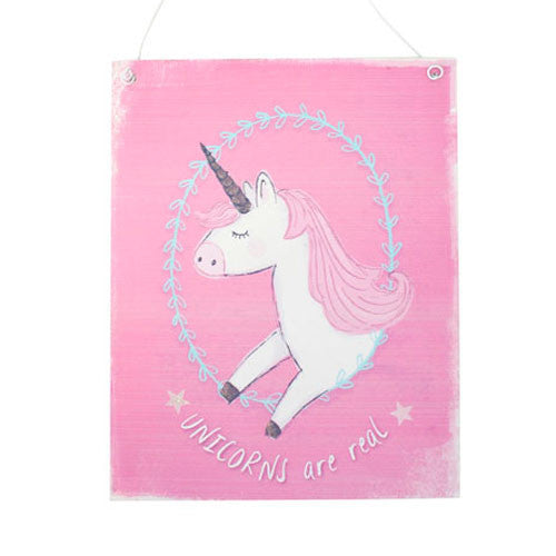 Medium Pink Unicorn Sign - All Unicorn Gifts