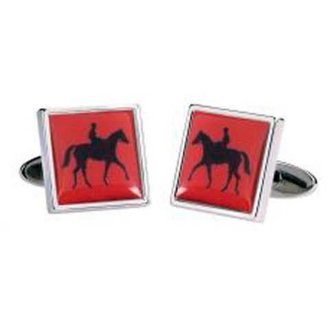Red Horse Racing Cufflinks