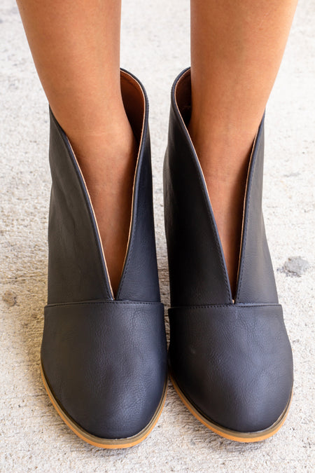 Ramona Black Booties