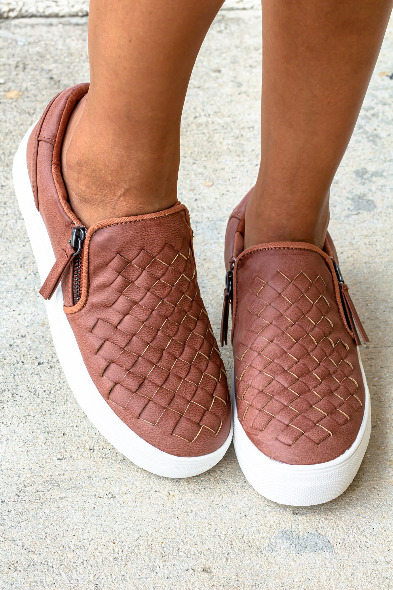 Tiffani Blush Sneakers
