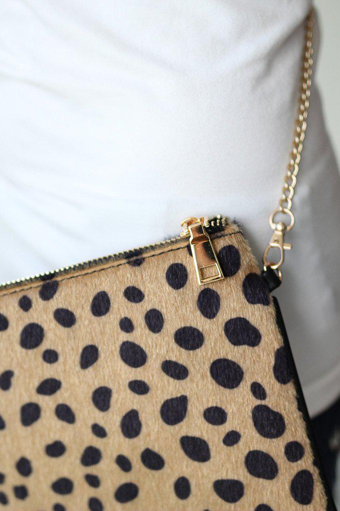 leopard clutches