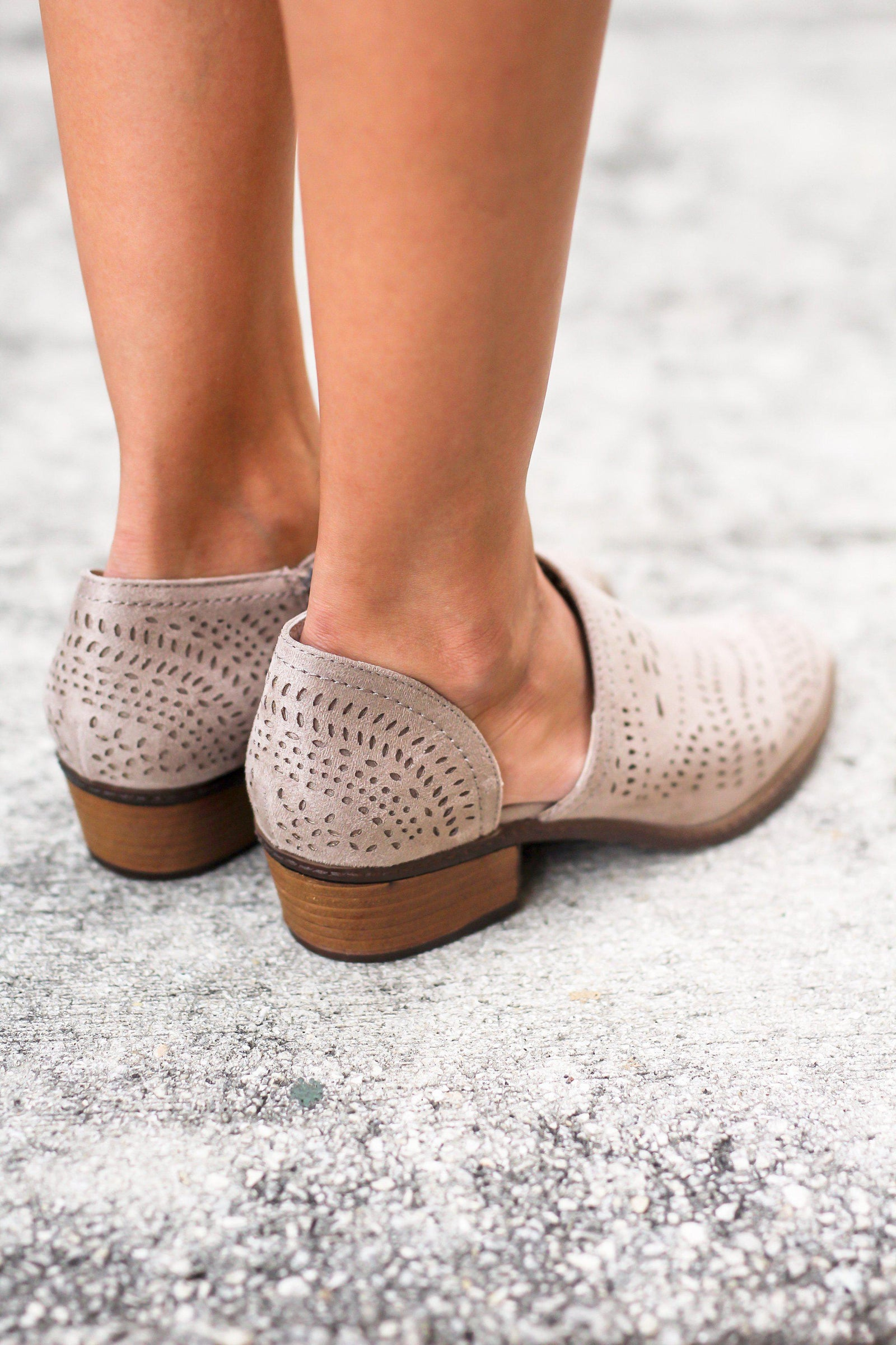 Anouk Taupe Booties