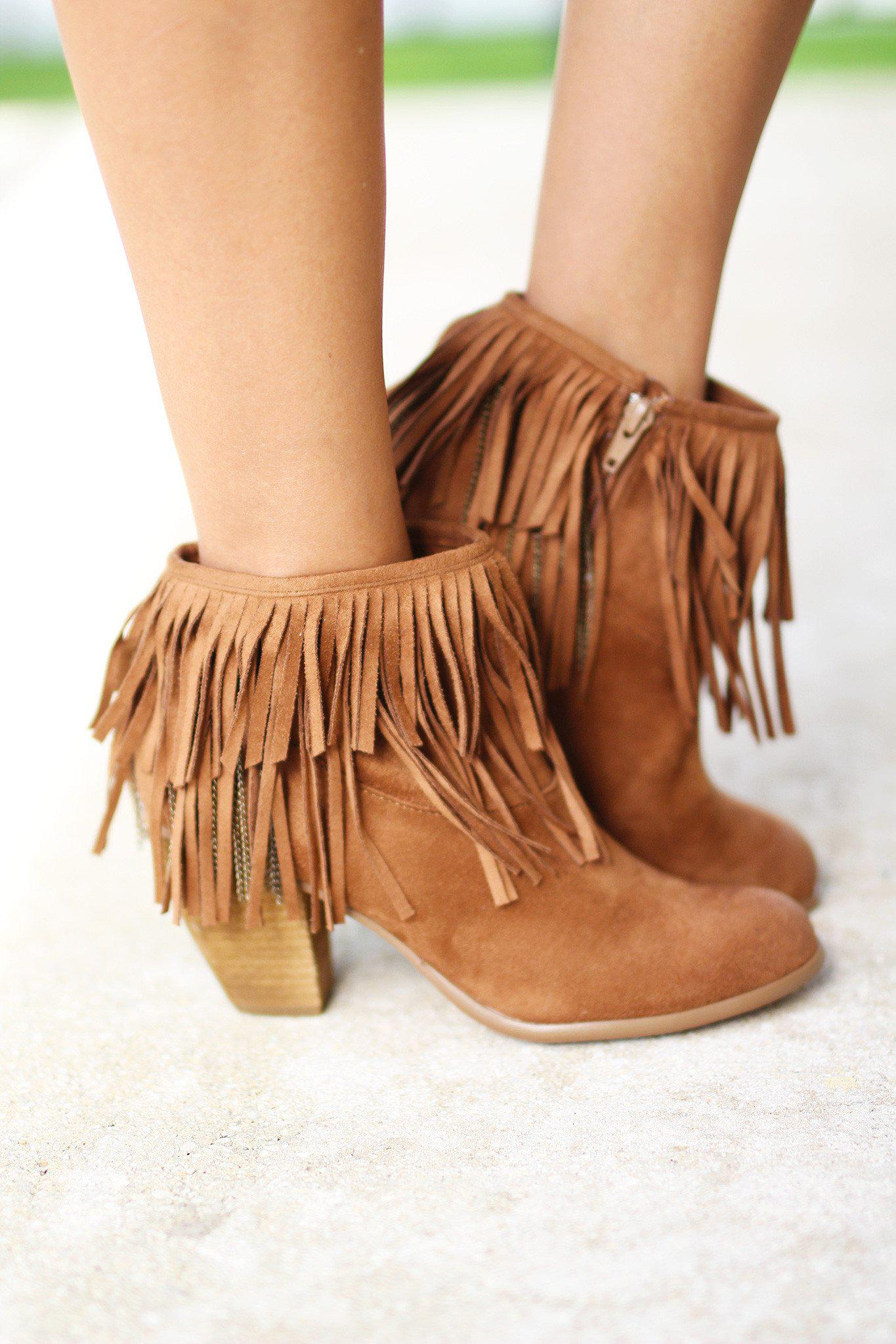 Auriga Tan Booties