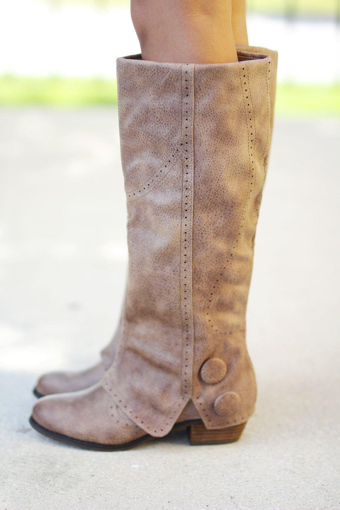 Bailey Taupe Boots