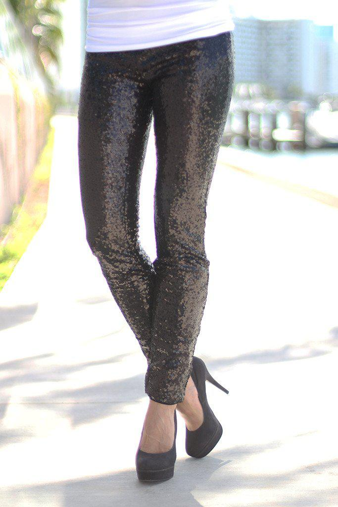 black party leggings
