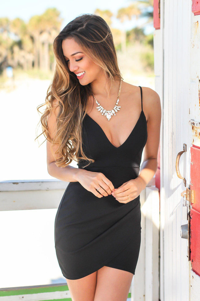 Black Short Dresses