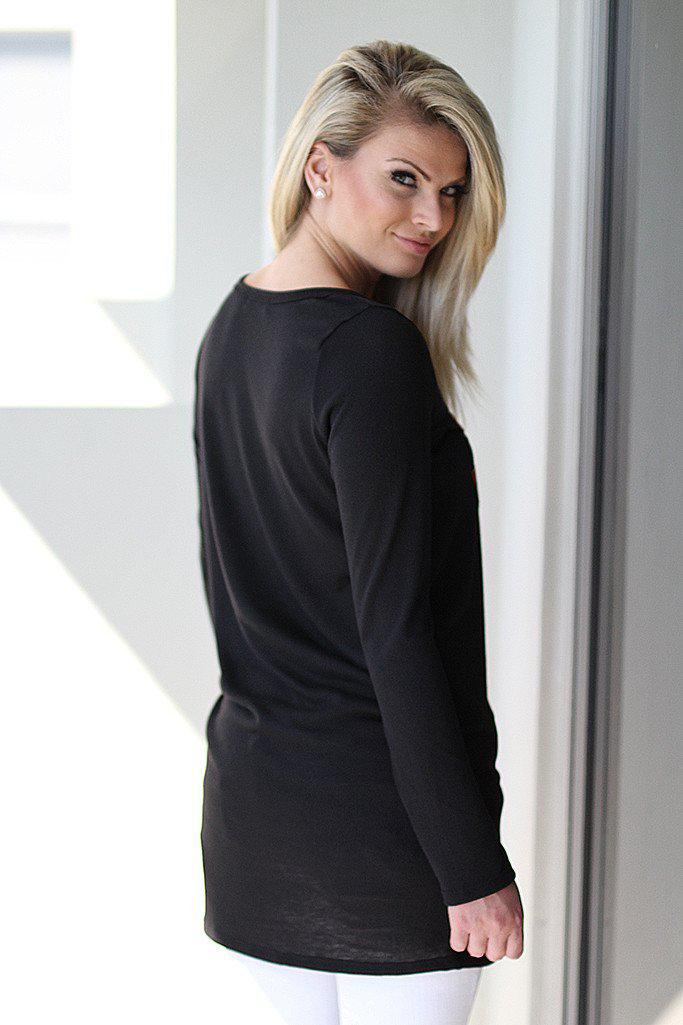 Black Reindeer Tunic