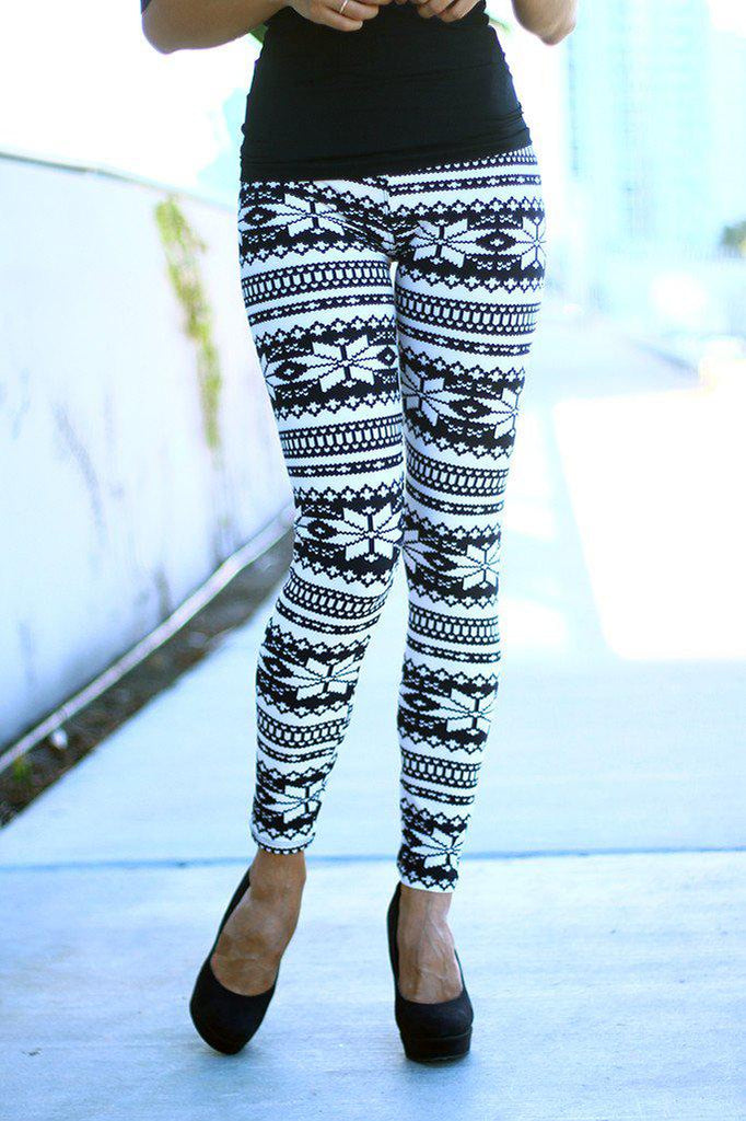 cute winter leggings