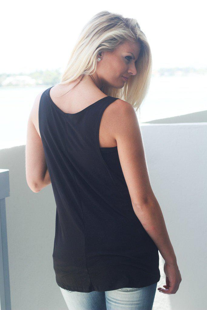 "Black ""Wifey"" Tank Top"