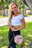 Blush Crossbody Bag