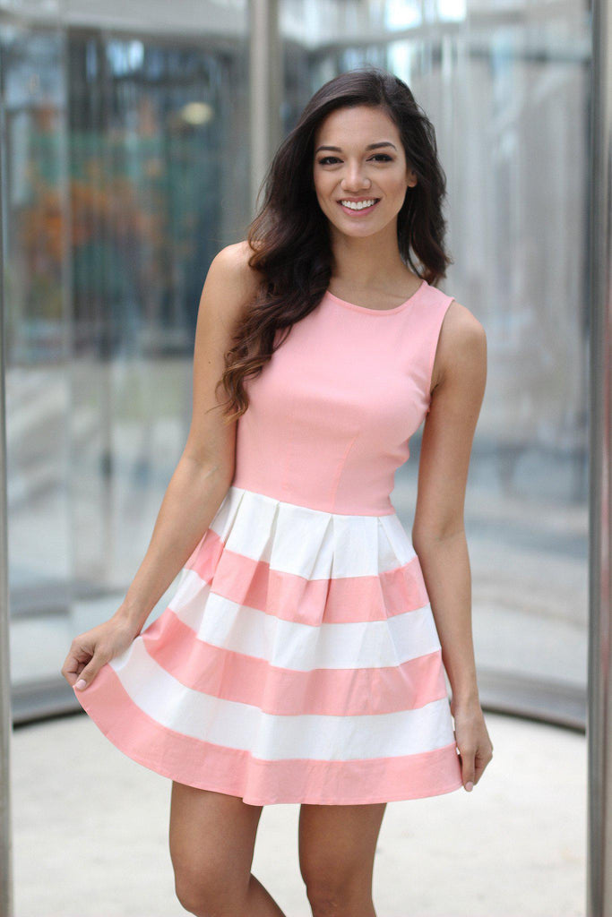 blush outings dress
