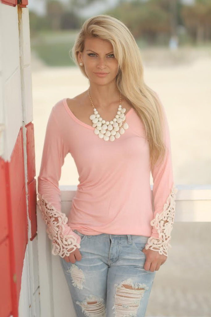 blush fashion top