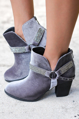 Norman Gray Booties