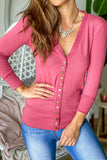 Rose Cardigan with 3/4 Sleeves