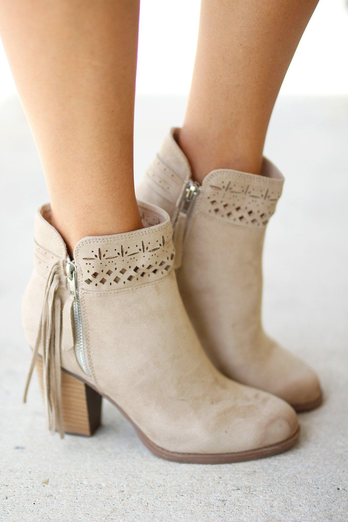 Chamonix Cream Booties