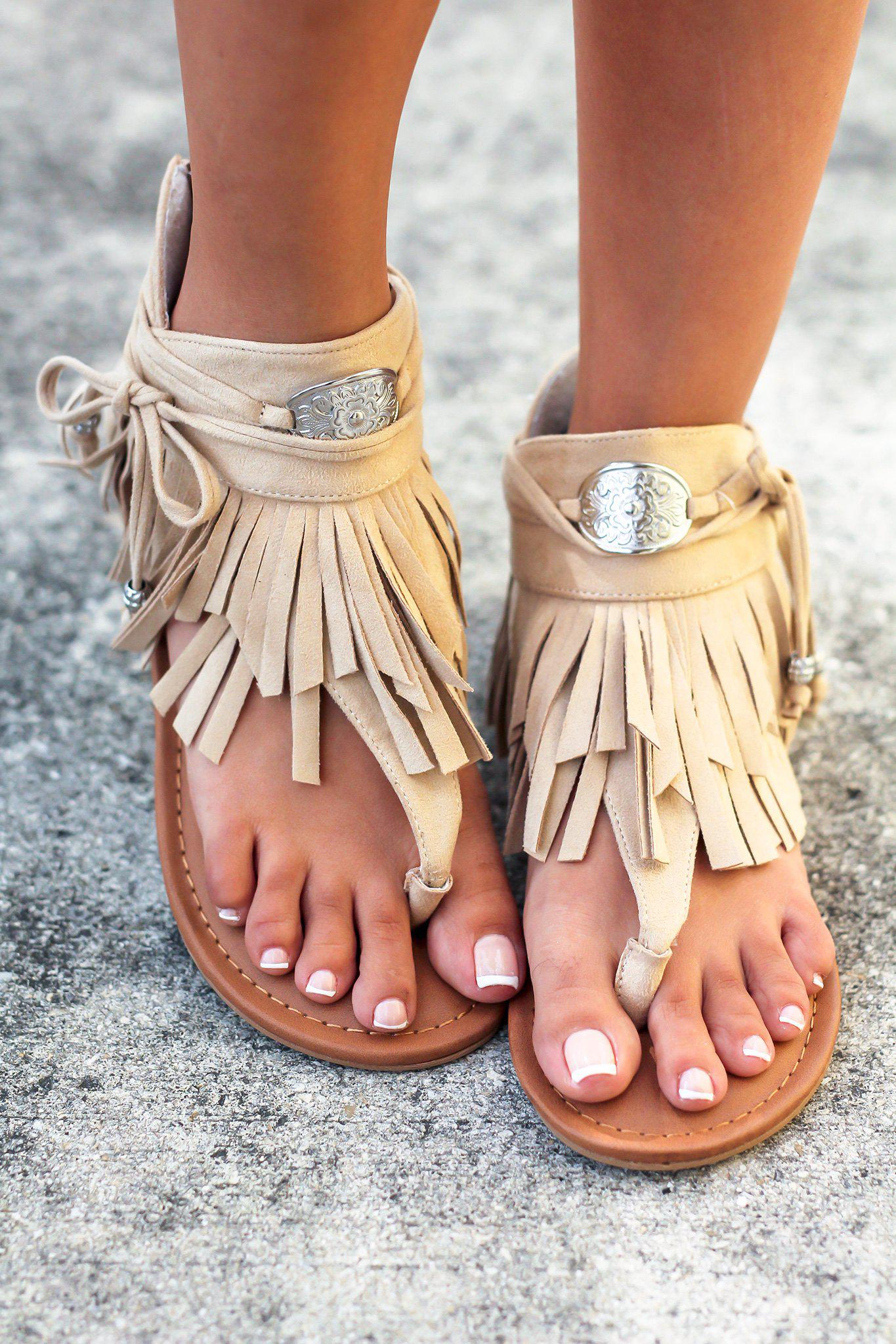 Chia Nude Sandals