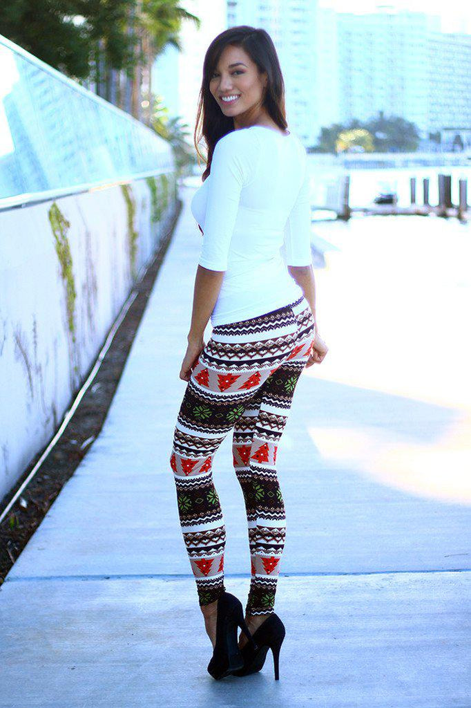 printed cute leggings