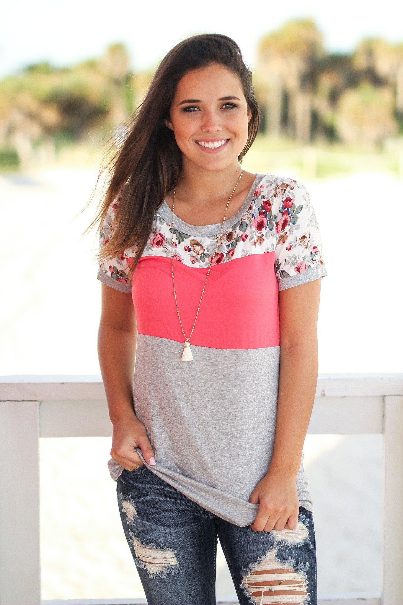 Color Block Top