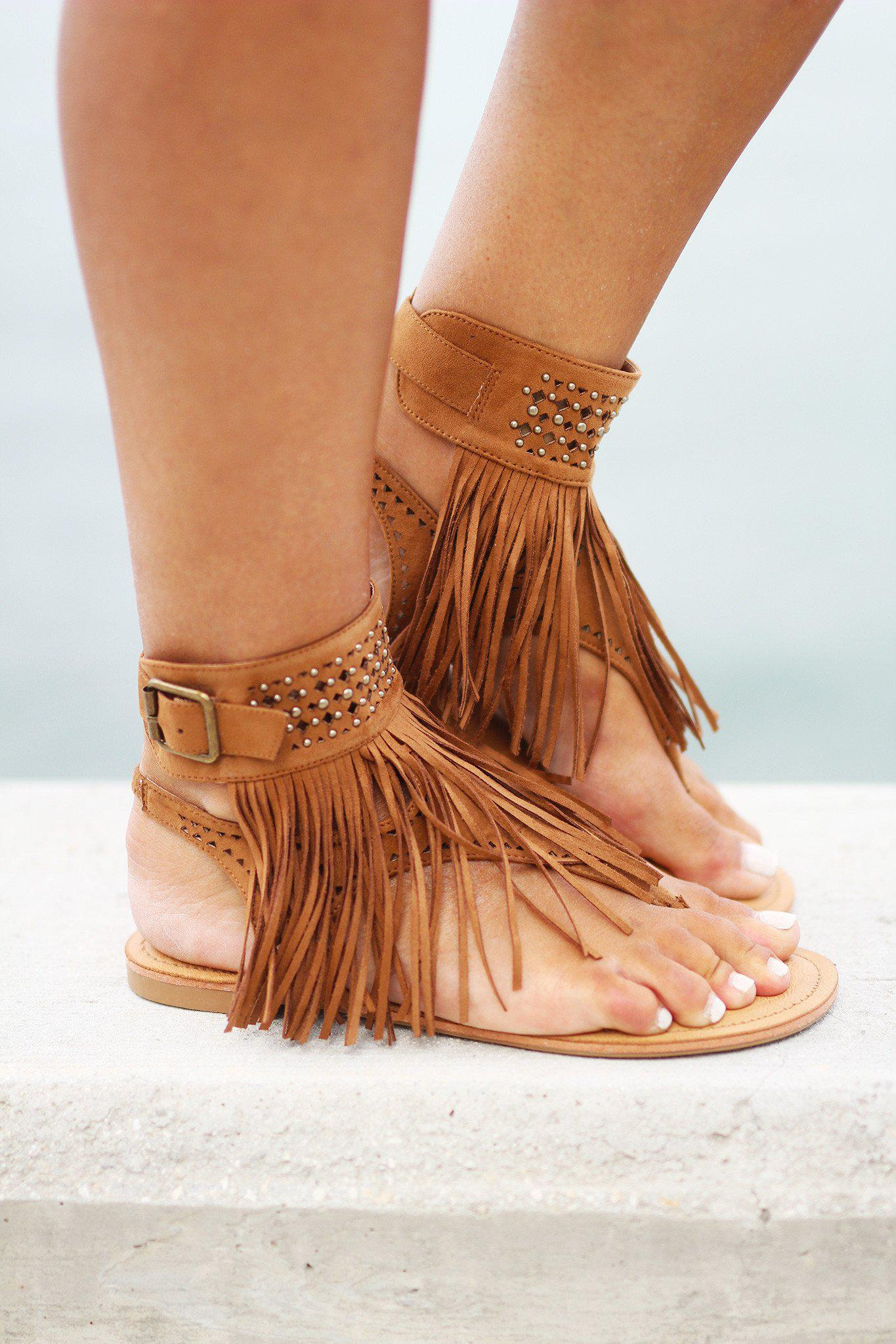Cosmic River Tan Sandals