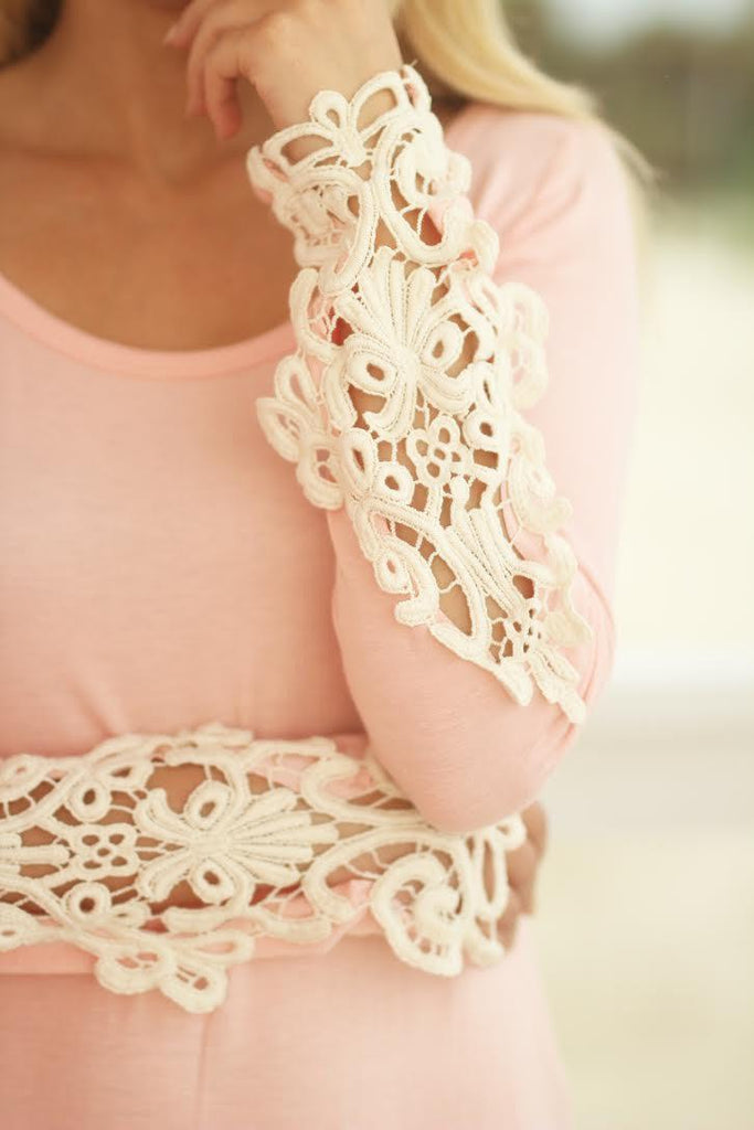 blush cute top