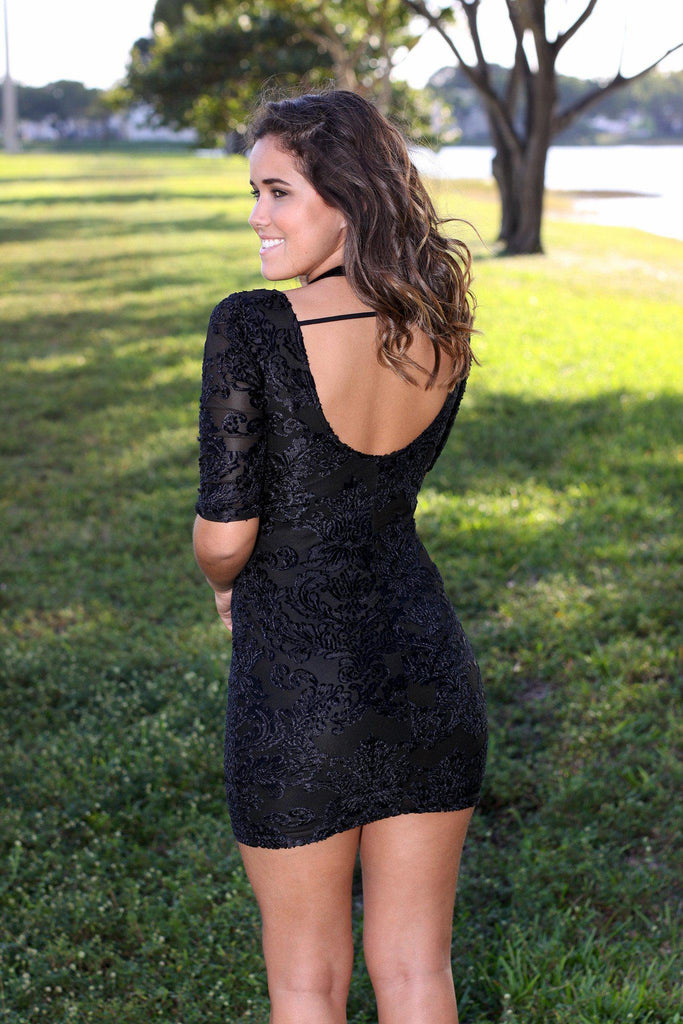 little black short dress