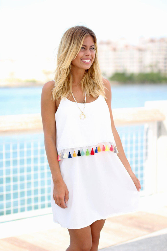 white special occasion dress