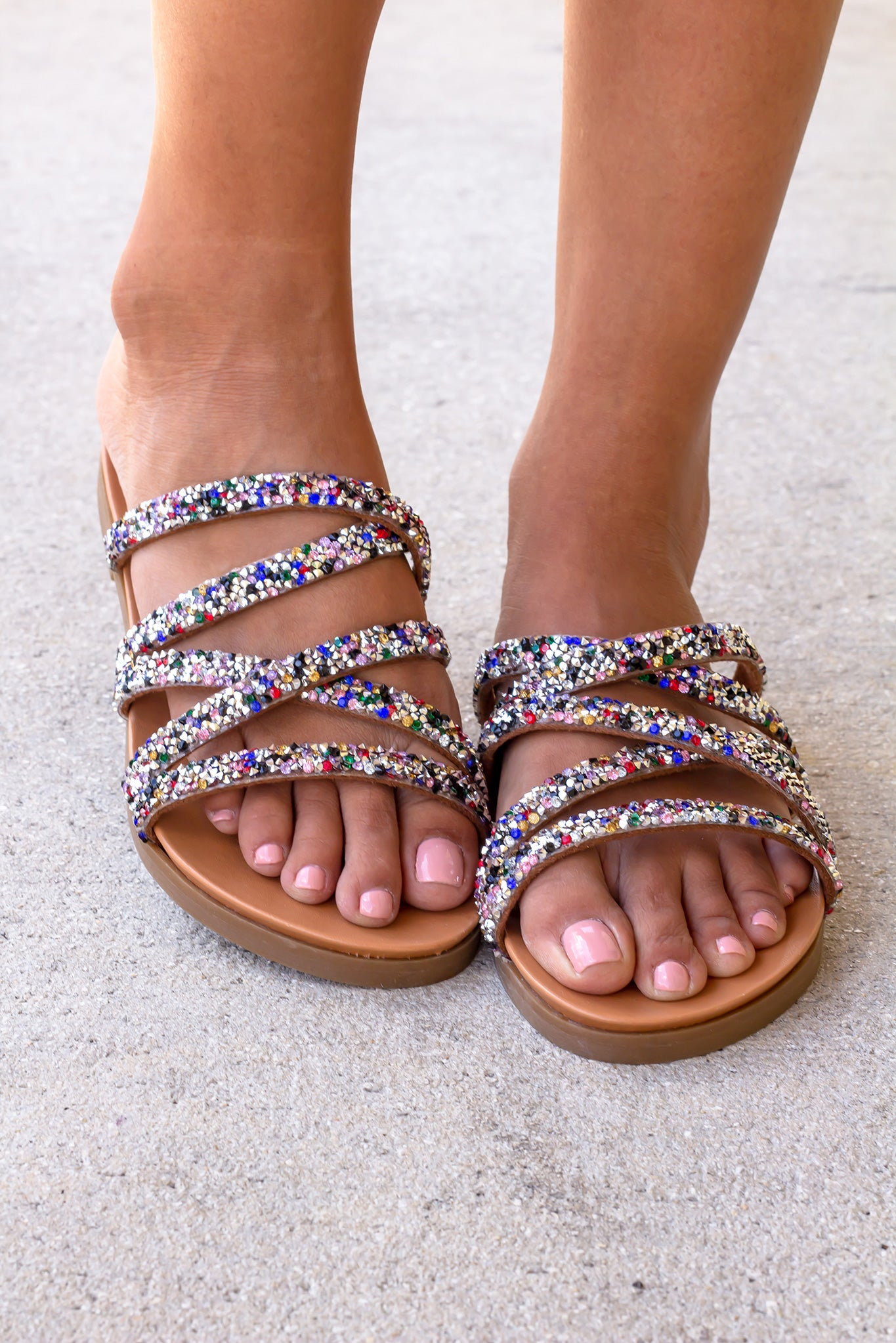 Eliana Multi Colored Sandals