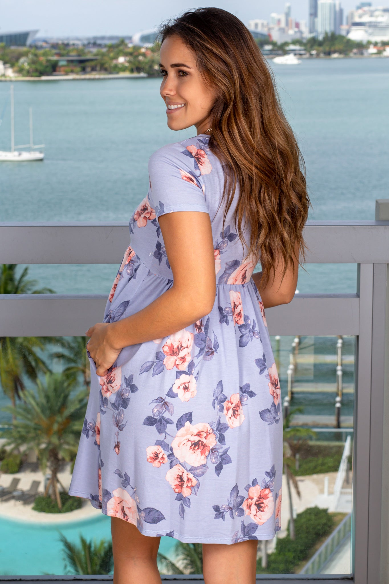 Floral Maternity Dresses