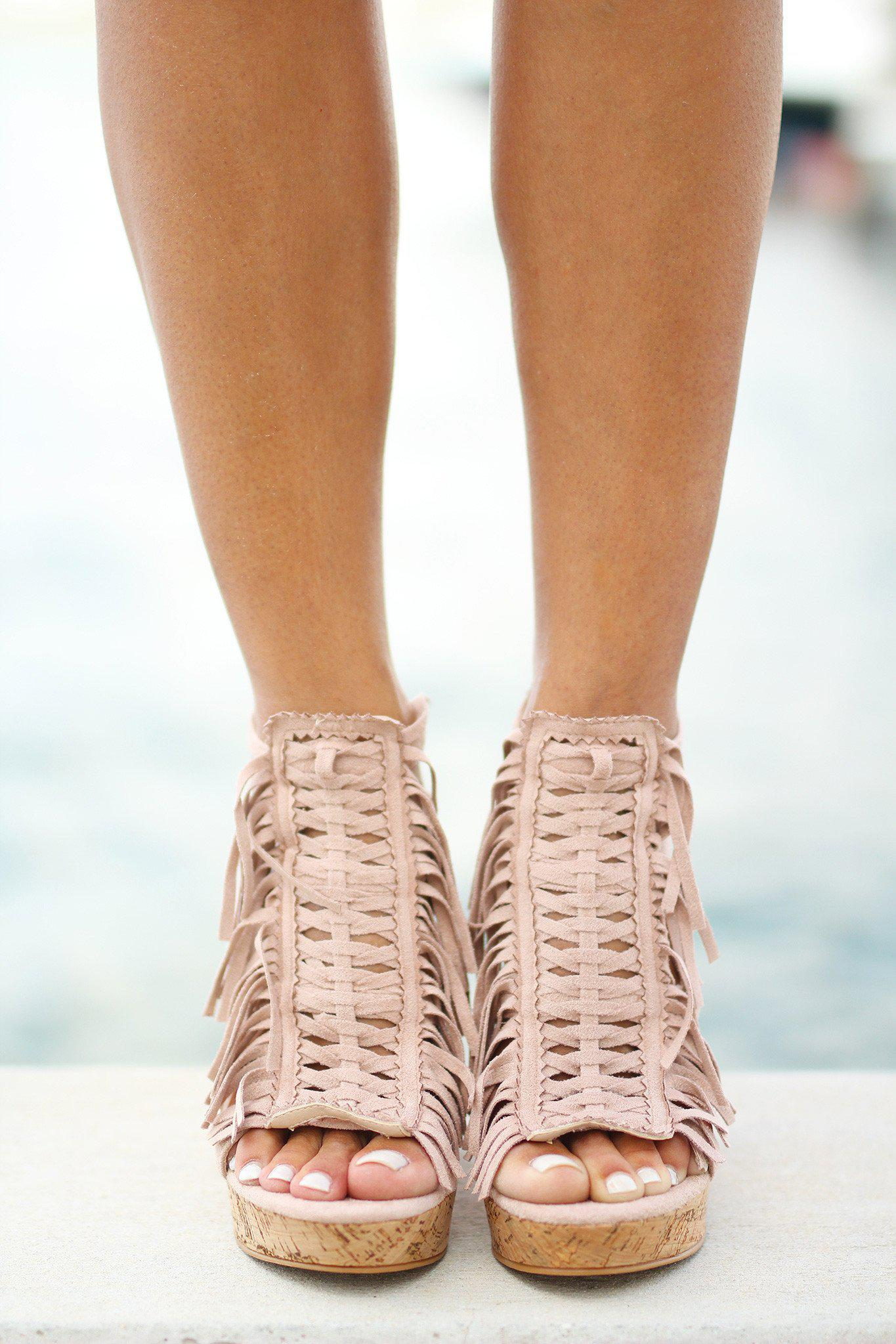 d75135c37fe Honey Buns Nude Wedges