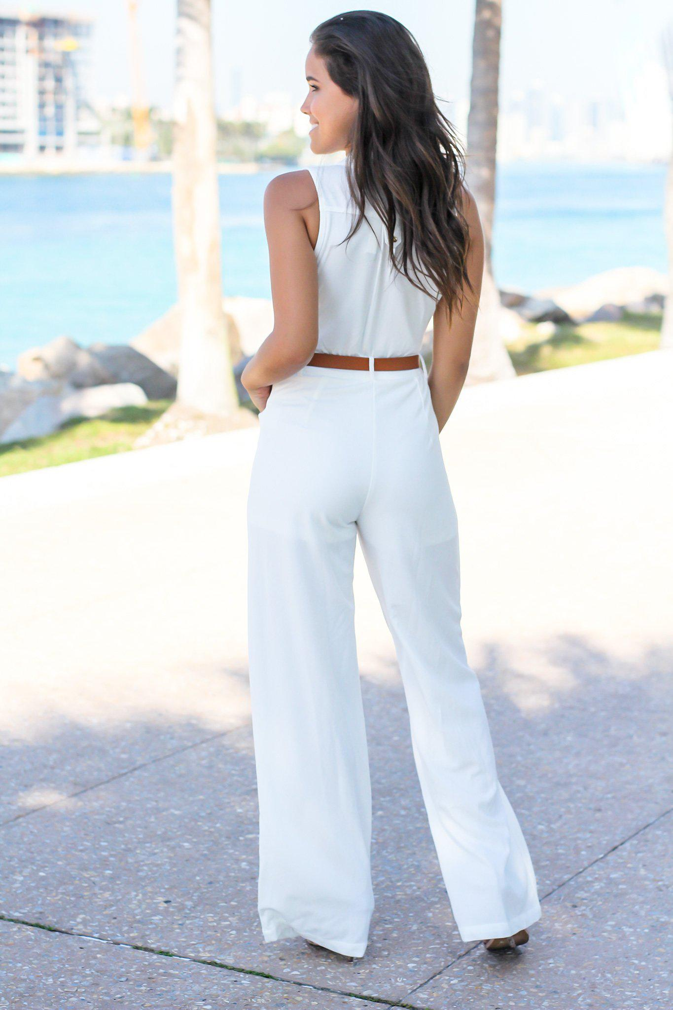 Ivory Jumpsuits
