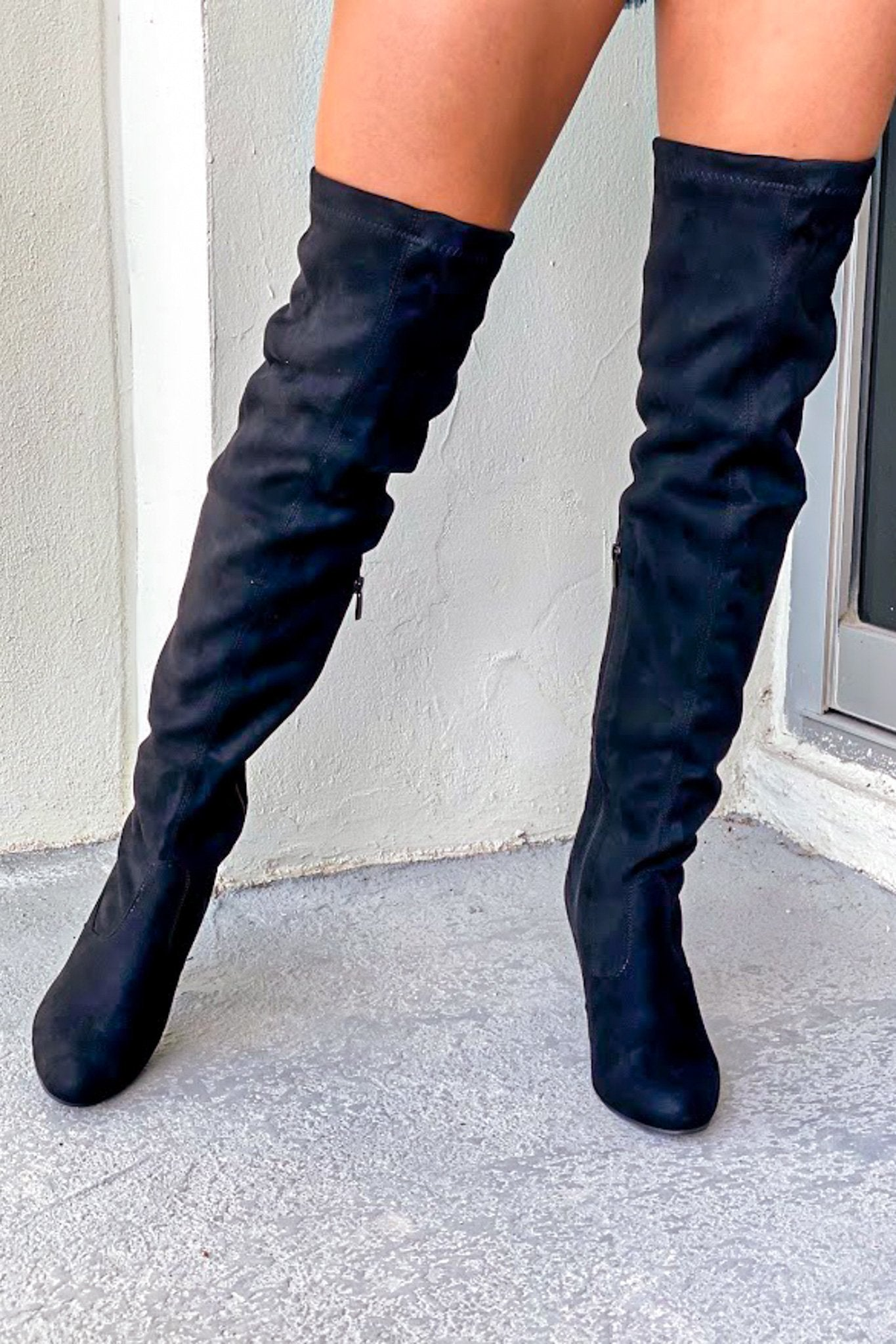 Keen Black Knee High Boots