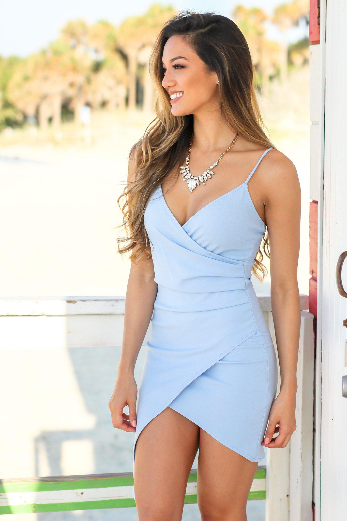 Light Blue Dresses