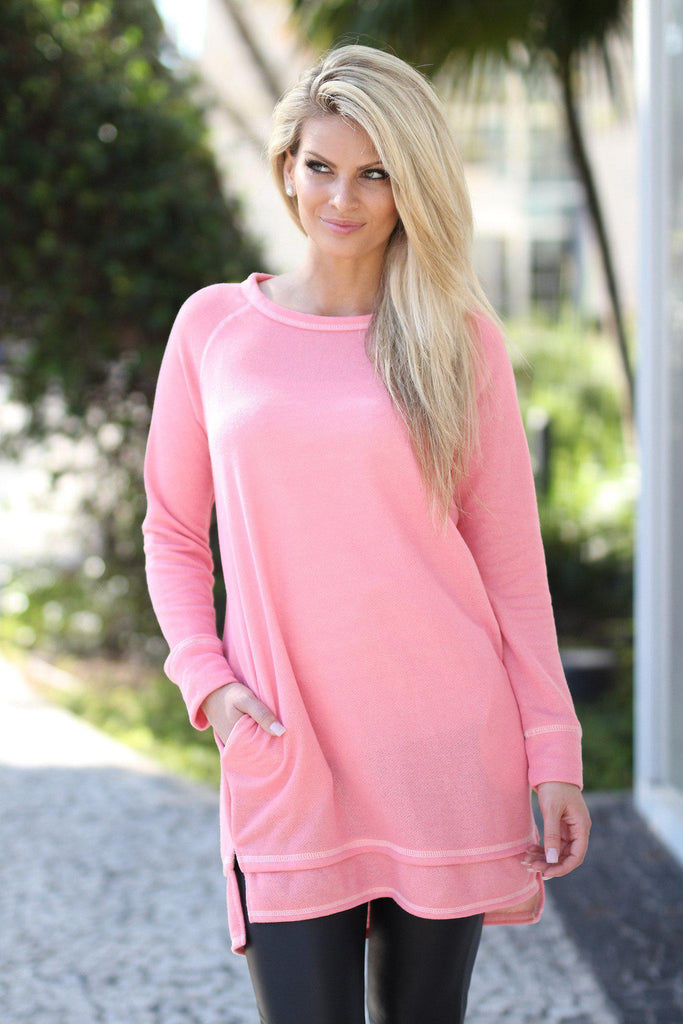 light coral top