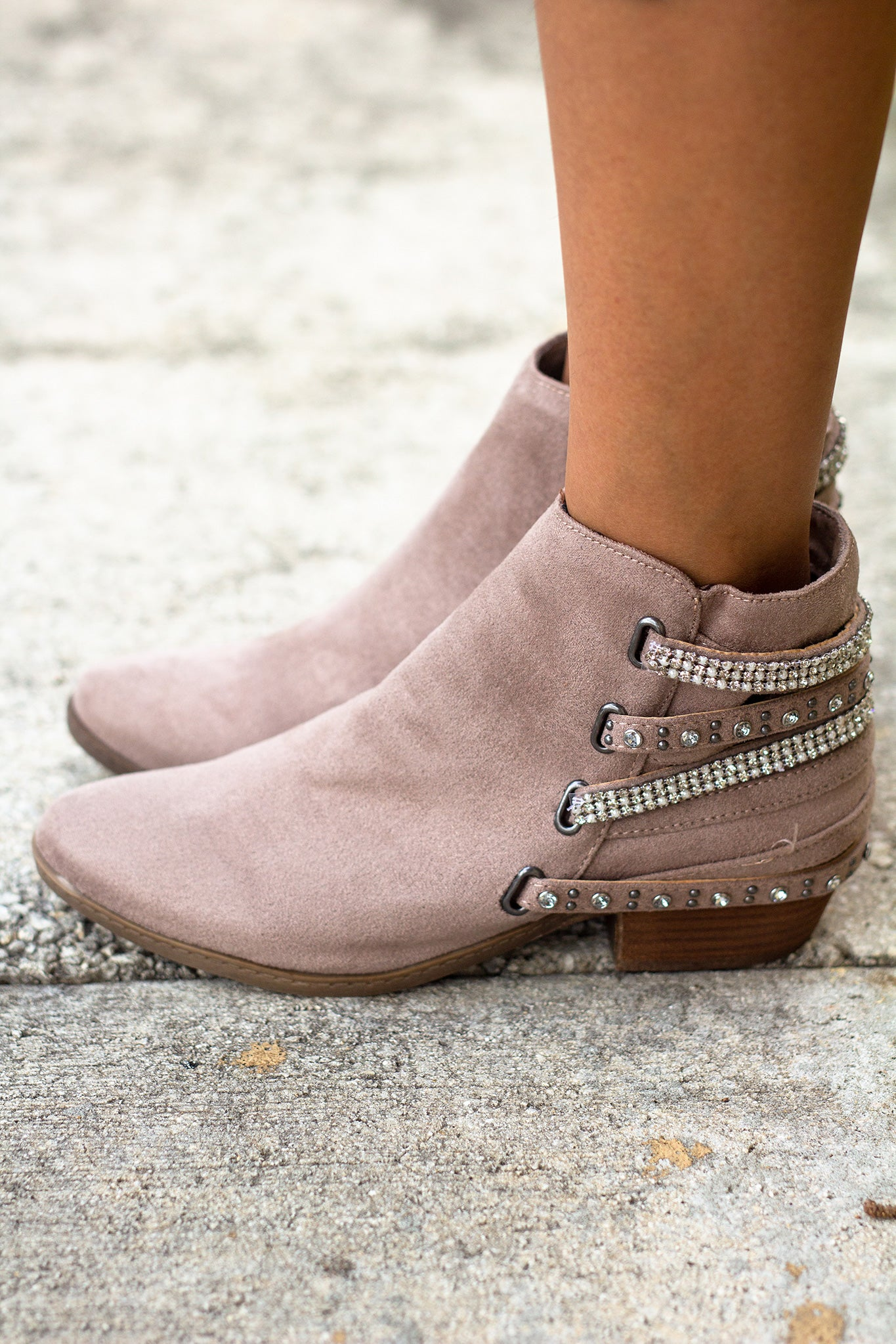 Lynn Brown Booties