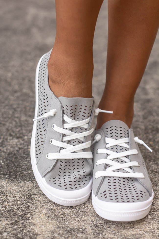 Marae Light Gray Sneakers