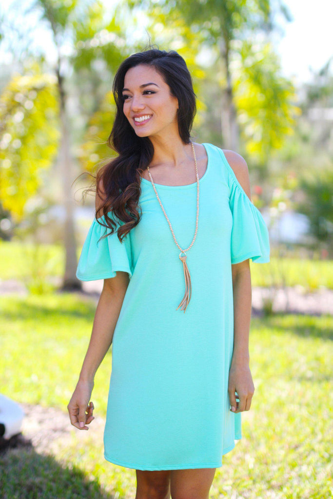 mint bridesmaid tunic
